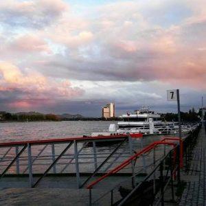 Bonn, Posttower, Rhein