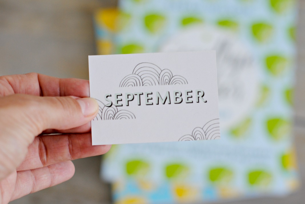 Monatsmotto September Zuckerfrei