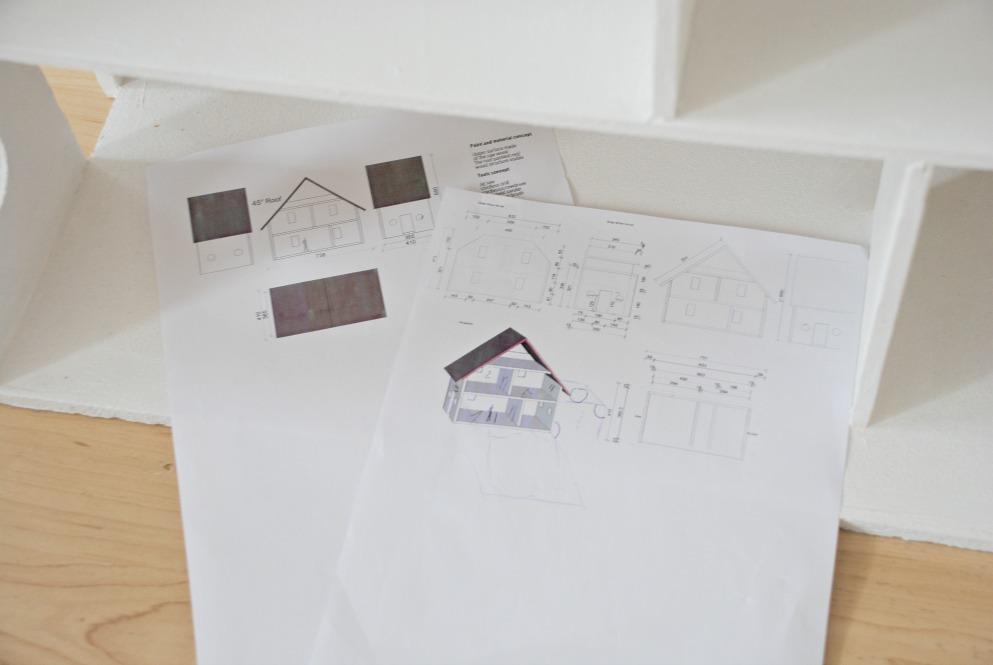 Spielhaus Plan