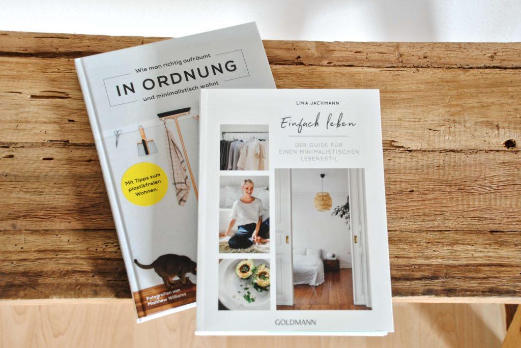 Büchertipps zum Thema Ordnung und Minimalismus