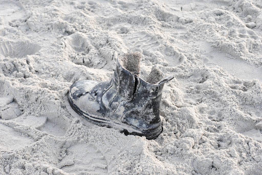Herzensdinge, Strandfund