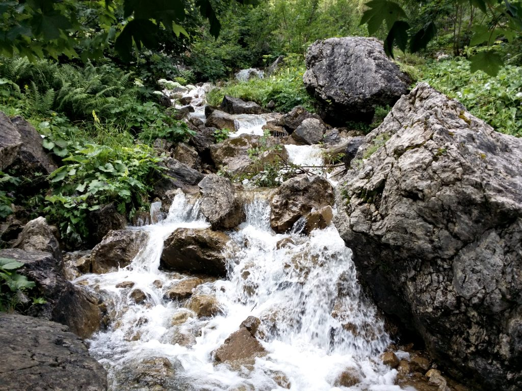 Wasserfall Vilsalpsee