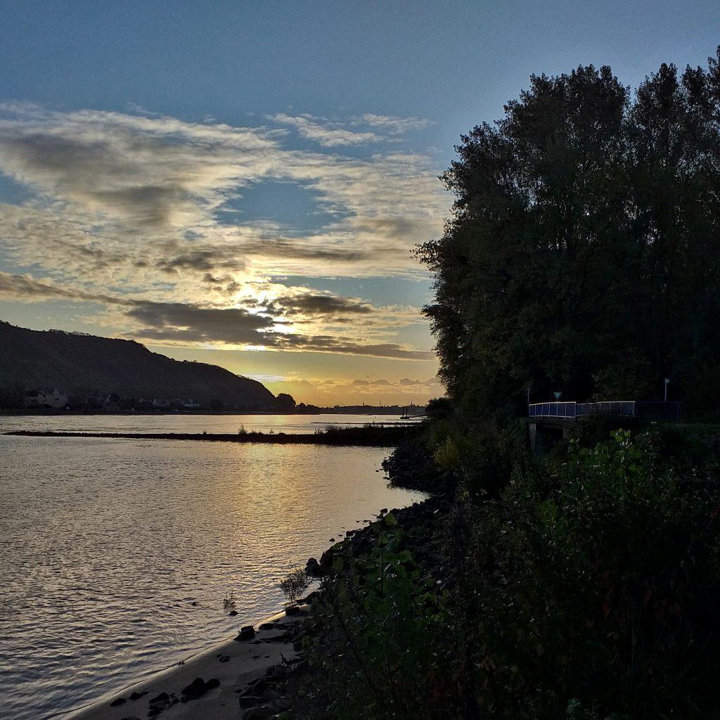 Rhein Andernach Wut