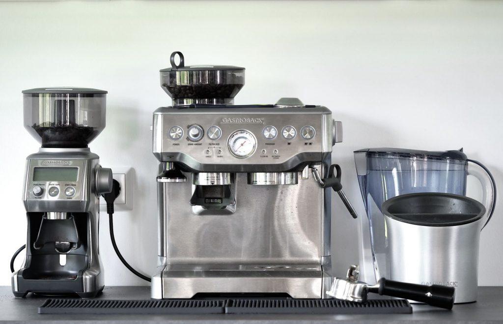 coworking brüneo Kaffeemaschine