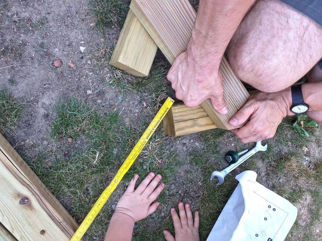 Mit Kindern bauen