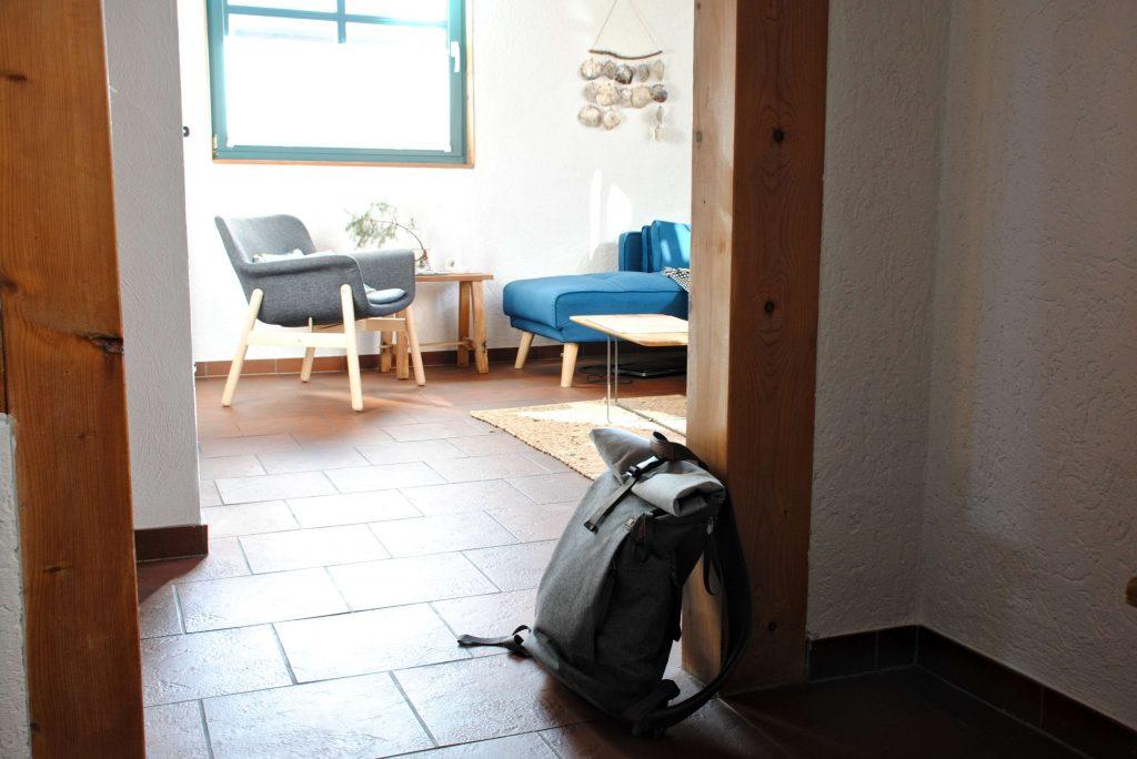Holzhaus Wohnzimmer Interior