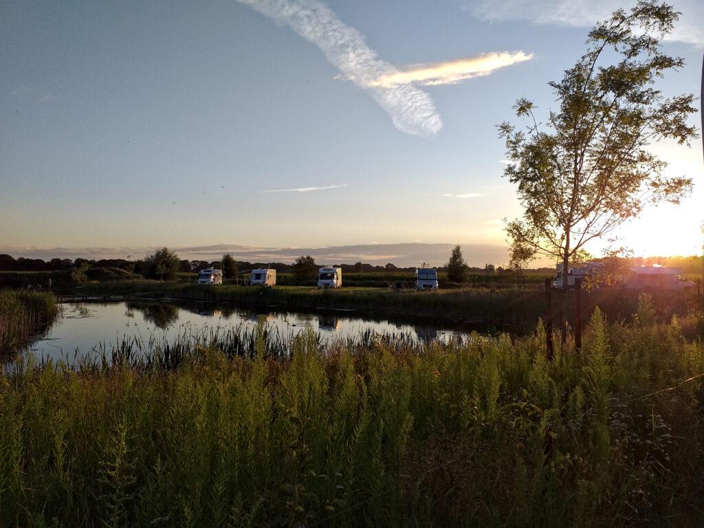 Campingplatz, Wohnmobil, Campingurlaub