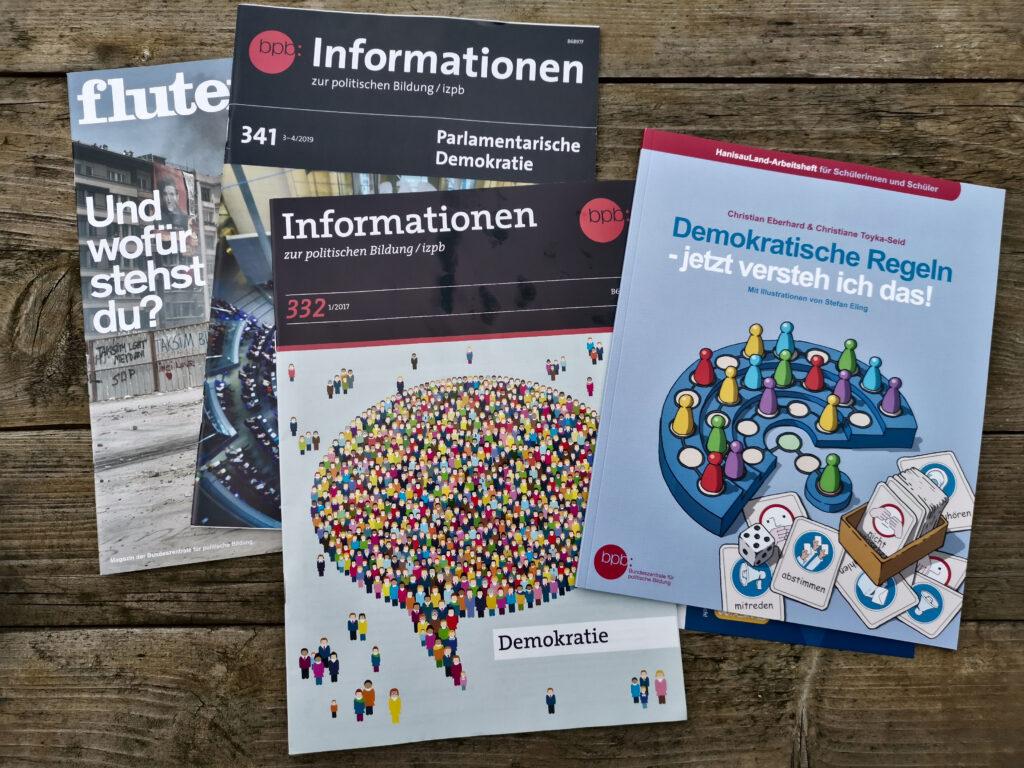 Informationsmaterial zur Demokratie, Wahlen